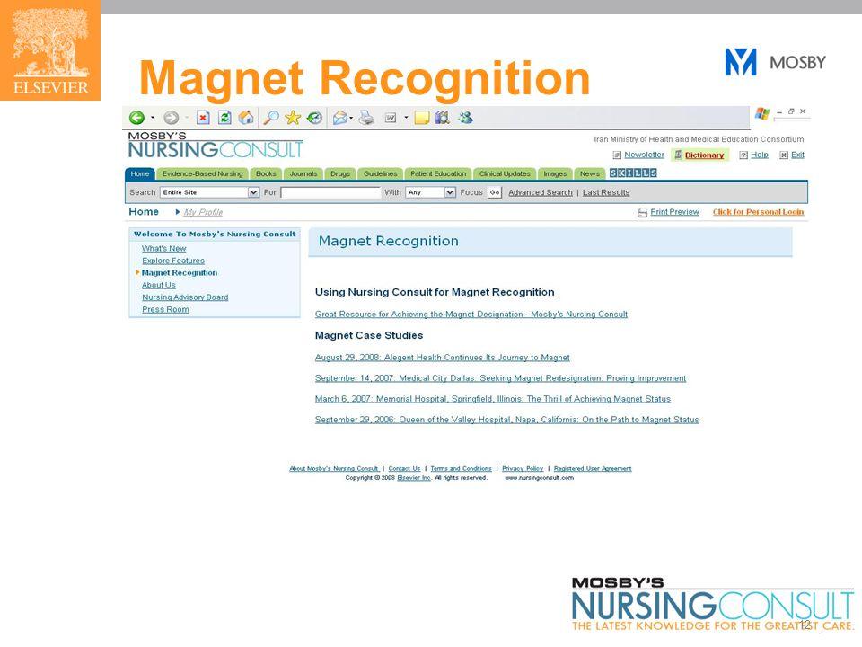 12 Magnet Recognition