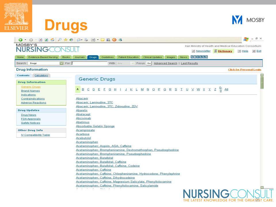 26 Drugs