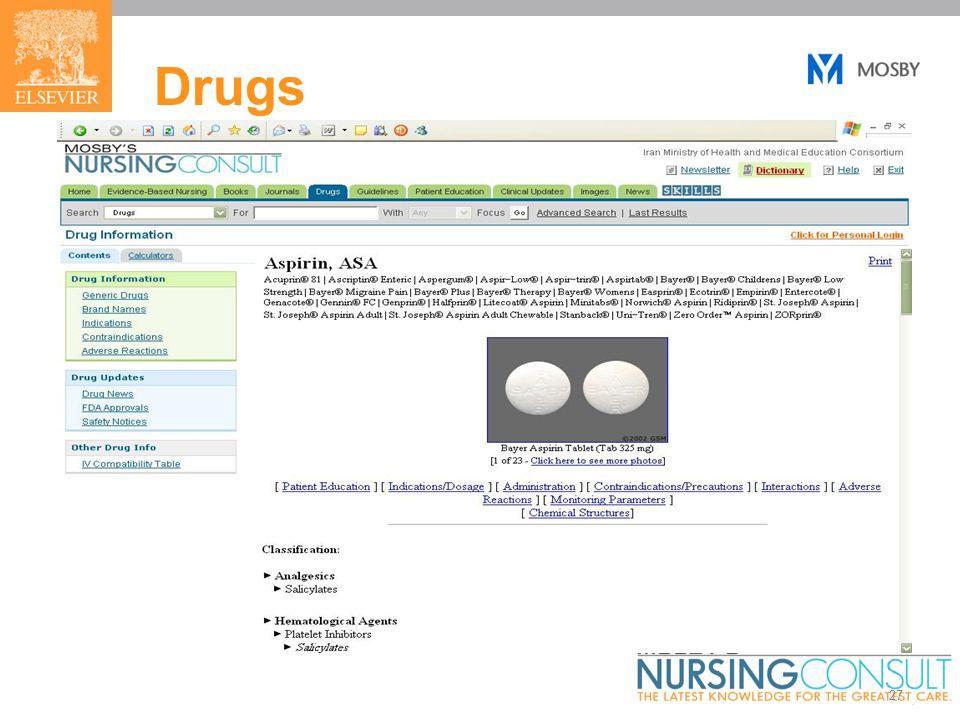 27 Drugs
