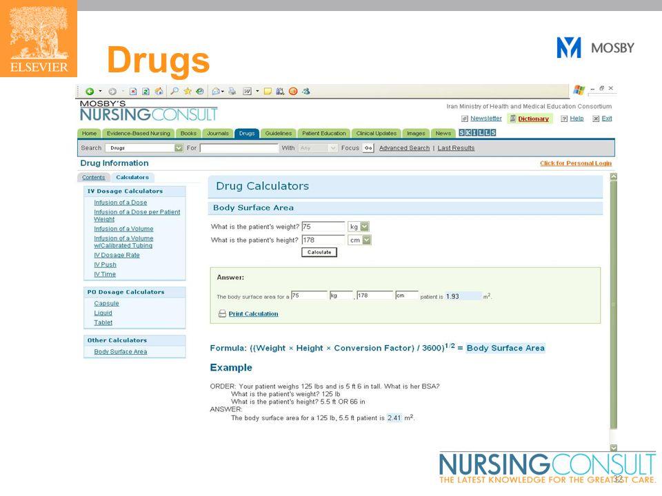32 Drugs