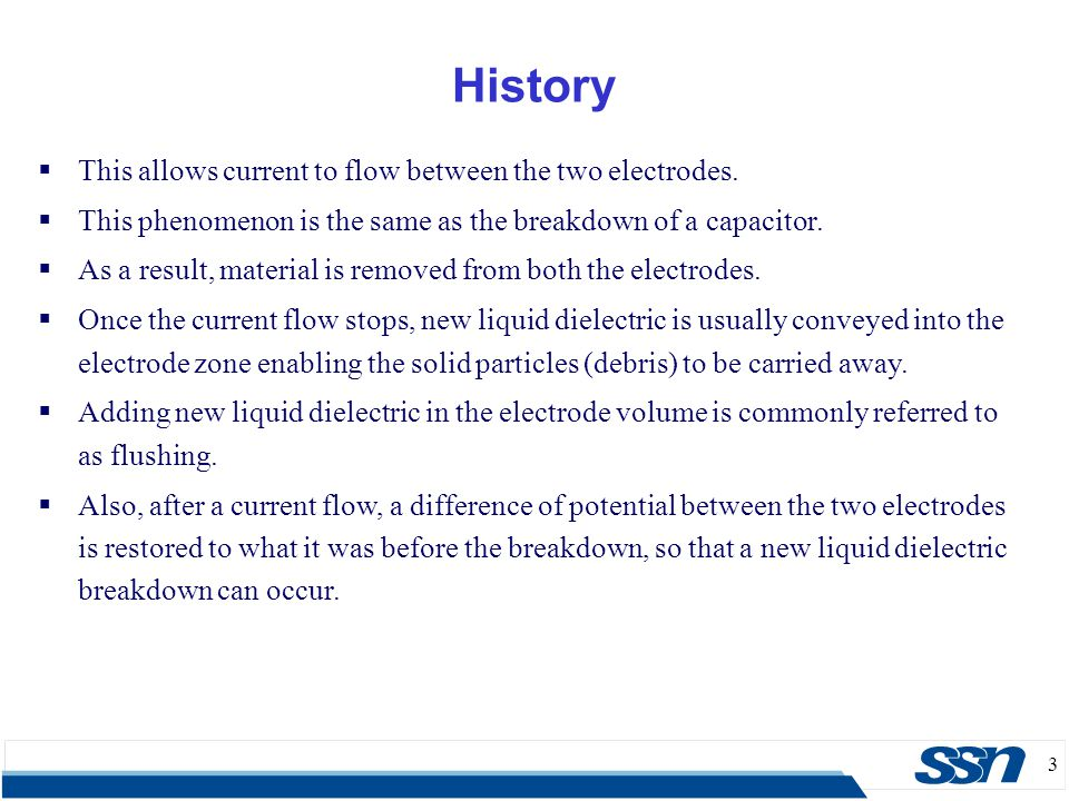 4  In 1770, English Physicist Joseph Priestley studied the erosive effect of electrical discharges.