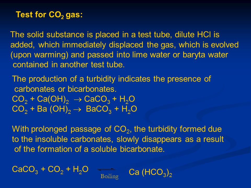2- For arsenate: Potassium iodide test: To the test solution (2ml) add 1 ml of chloroform, 3ml KI solution and 5ml conc.