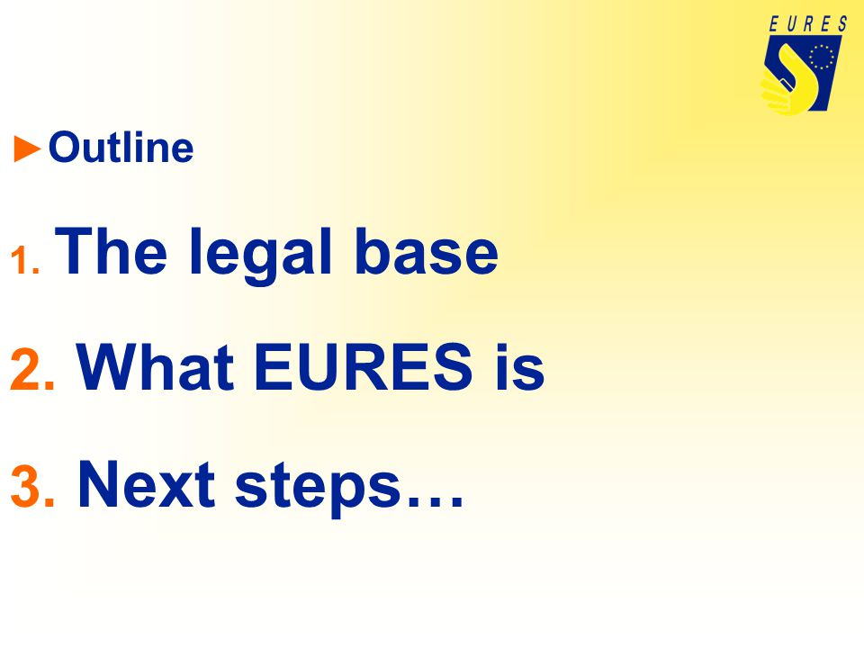 EURES structure