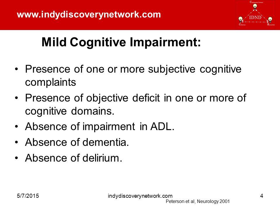www.indydiscoverynetwork.com 5/7/2015indydiscoverynetwork.com5 Dementia in Primary Care Clinic Boustani et al, JGIM 2005