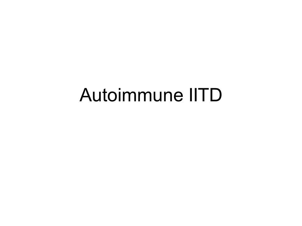 Autoimmune IITD