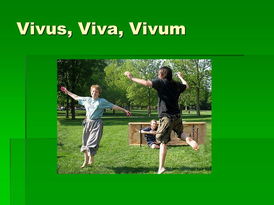 Vivus, Viva, Vivum