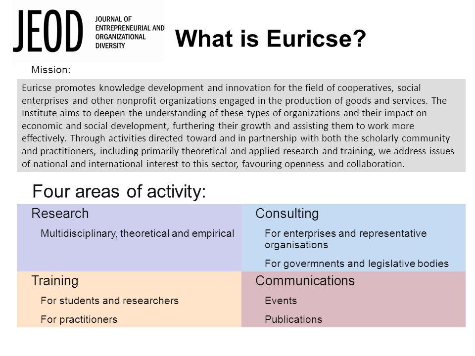 What is Euricse.
