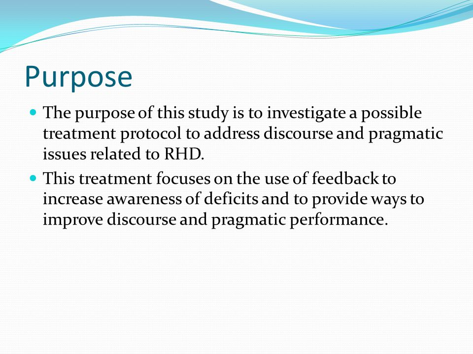 Results – Formal Assessment Improvements in: visual scanning, visuoverbal processing, higher-level language skills, and right-left differentiation auditory working memory, visual focused attention, and visual-spatial working memory sustained auditory attention, divided attention, selective attention, attention switching deductive reasoning skills, information integration, hypothesis testing, flexibility of thinking, descriptive narrative, and verbal abstraction skills