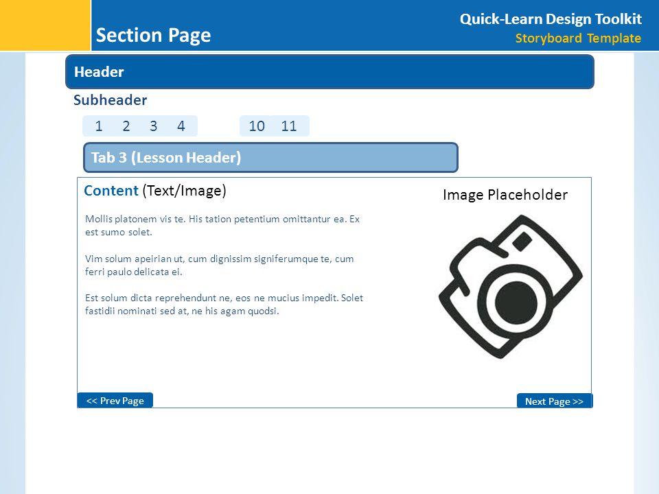 Next Page >> << Prev Page Image Placeholder Mollis platonem vis te.