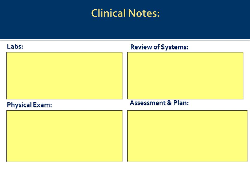 Assessment & Plan: Labs: Review of Systems: Physical Exam: