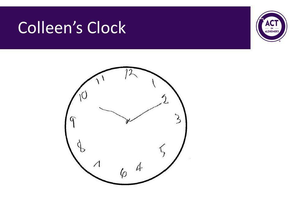 Colleen's Clock