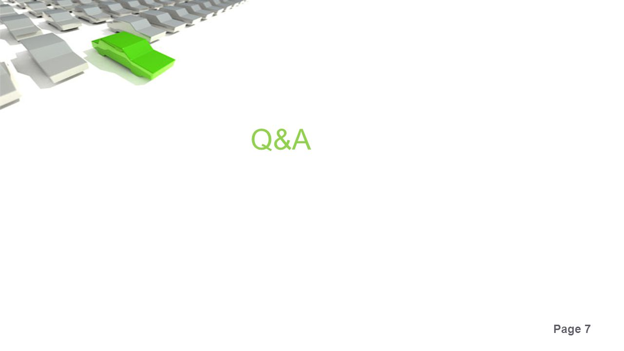 Page 7 Q&A