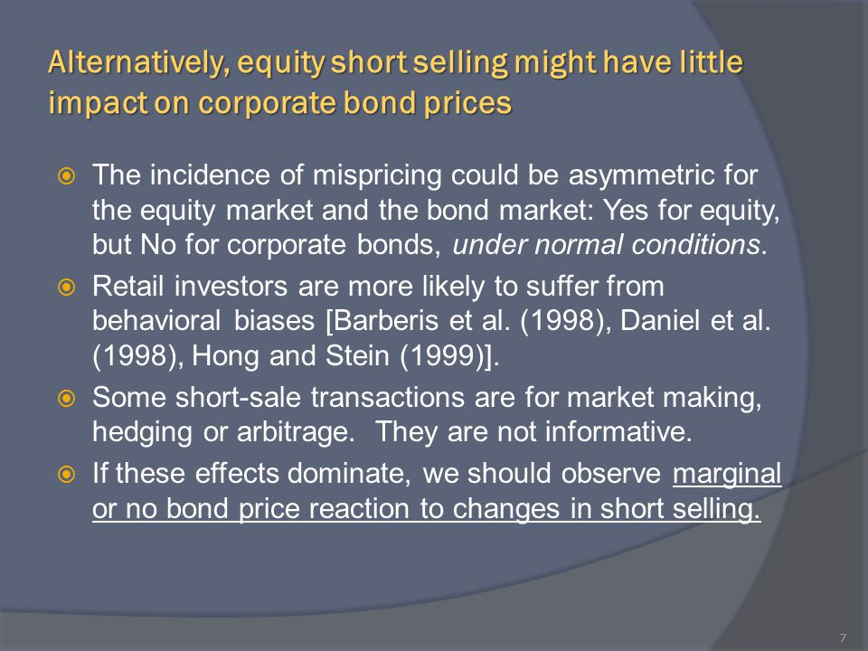 What Drives the Negative Relation between Short Selling and Bond Returns.