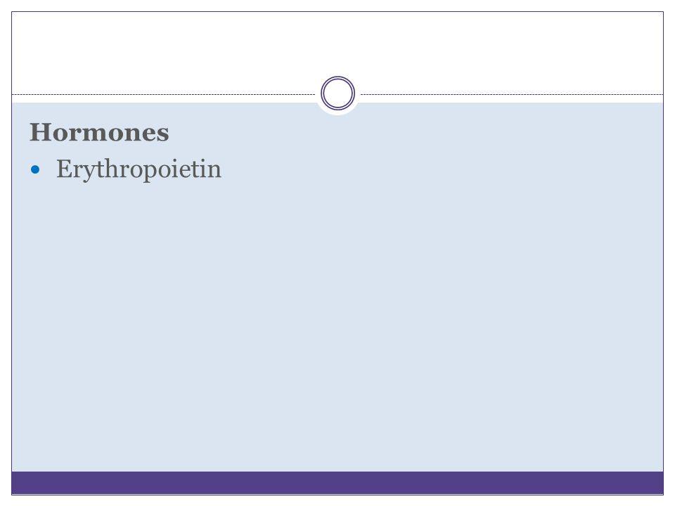Hormones Erythropoietin