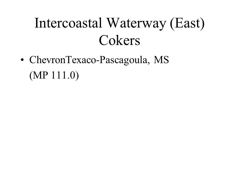 Intercoastal Waterway (East) Cokers ChevronTexaco-Pascagoula, MS (MP 111.0)