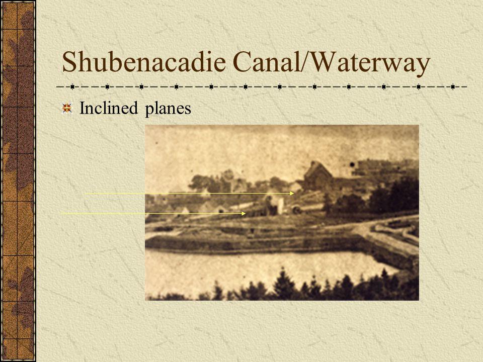 Shubenacadie Canal/Waterway Inclined planes