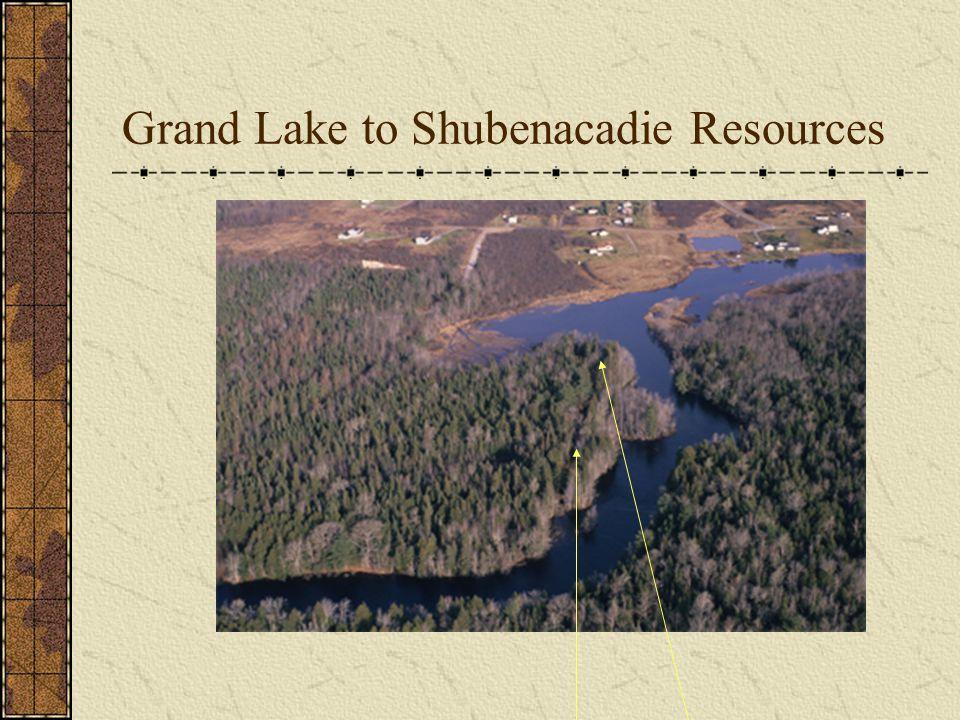 Grand Lake to Shubenacadie Resources