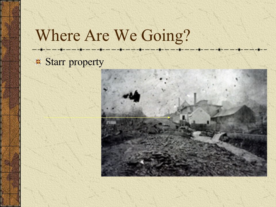 Where Are We Going Starr property