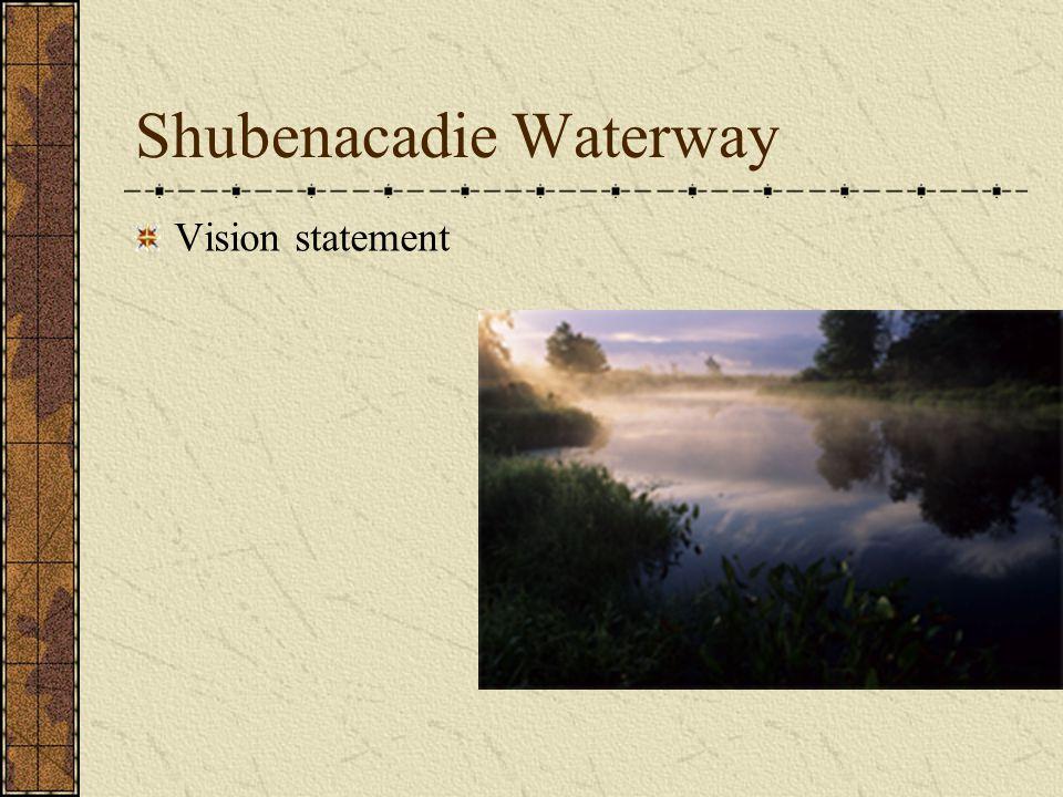 Shubenacadie Waterway Vision statement