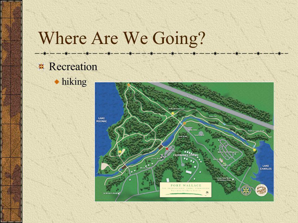 Where Are We Going Recreation hiking