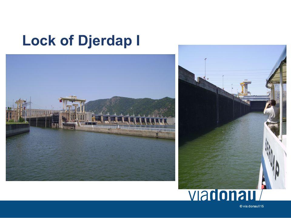 © via donau I 15 Lock of Djerdap I