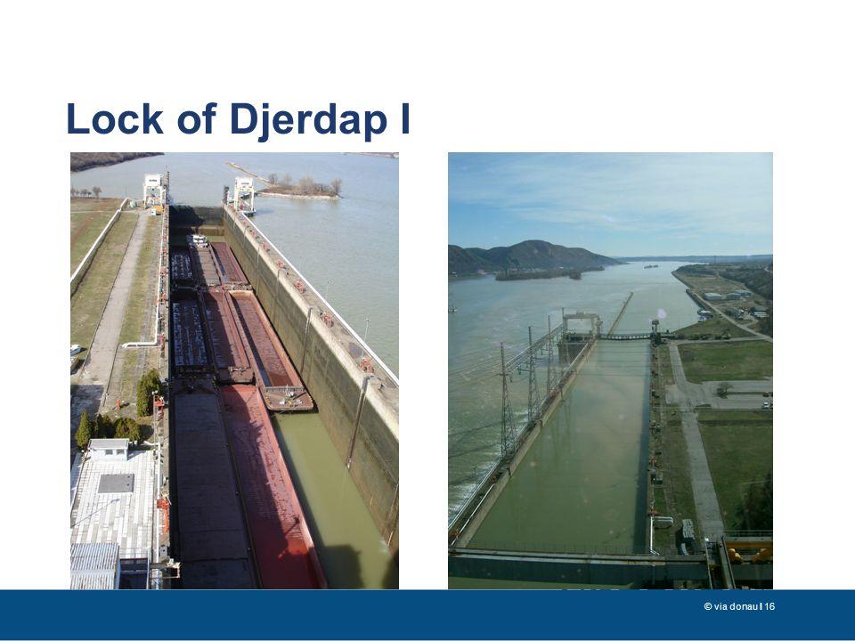 © via donau I 16 Lock of Djerdap I