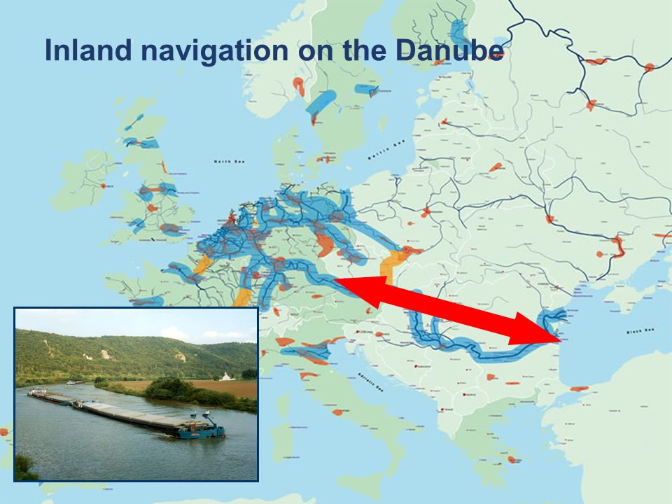 © via donau I 5 River Information Services (RIS) Telematics Systems and Information Services in order to increase the safety and efficiency of inland waterway transport