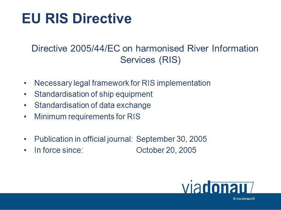 © via donau I 7 System Concept of RIS