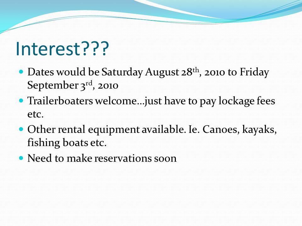 Interest??.