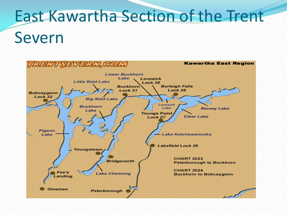 East Kawartha Section of the Trent Severn