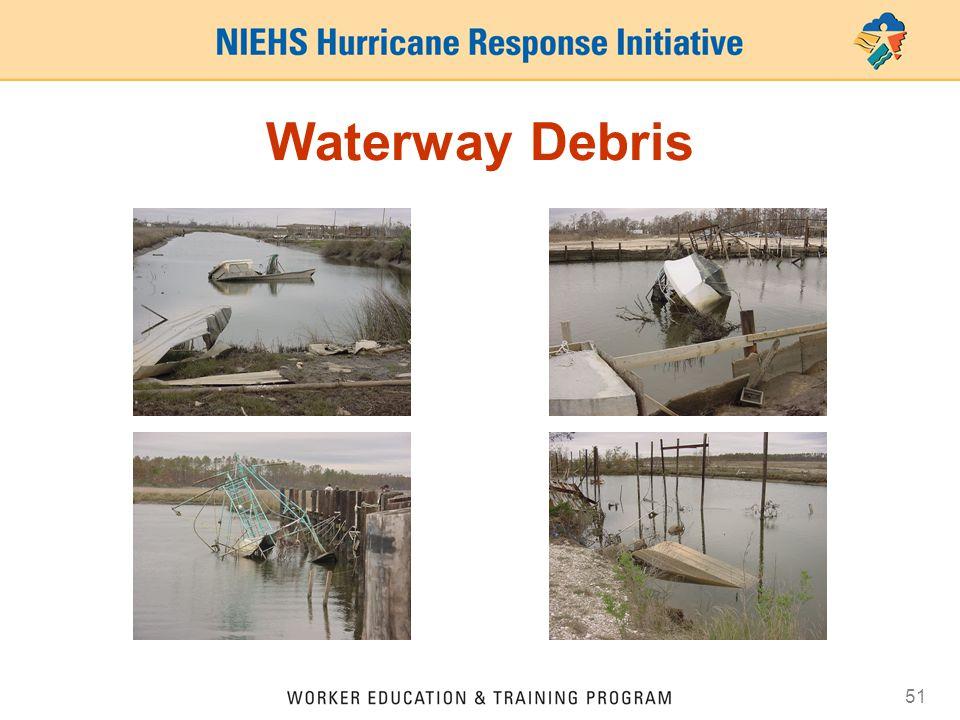 51 Waterway Debris
