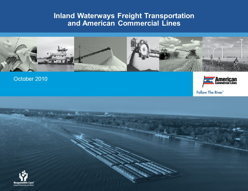 October 2010 Inland Waterways Freight Transportation and American Commercial Lines