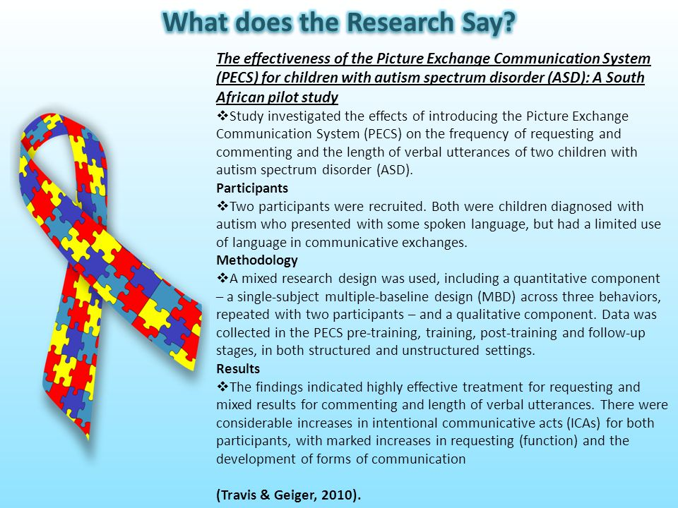Cognitive, Behavior and Intervention Outcome in Young Children with Autism  The relations between cognition and autism severity, head size and intervention outcome, were examined.