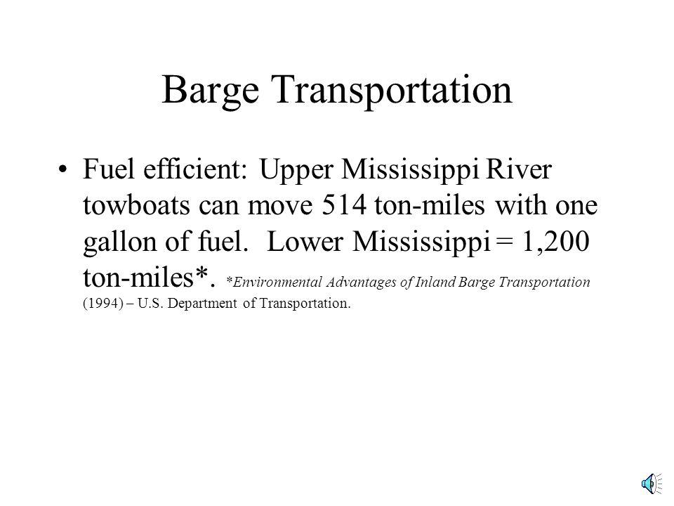 Barge Transportation