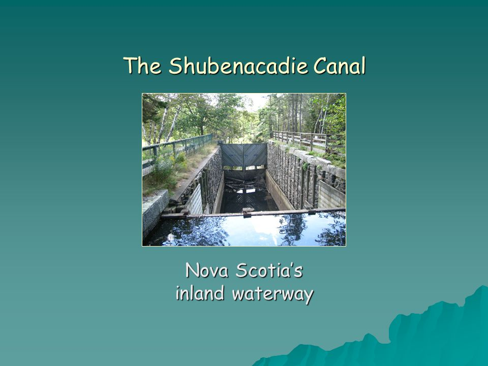 SiKEPNE'K KATIK Used by the Mi kmaq for centuries, the Shubenacadie waterway was carved out of bedrock by glaciers during the last ice age.