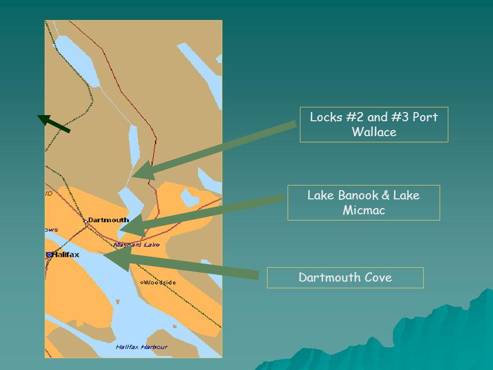 Lake Banook & Lake Micmac Locks #2 and #3 Port Wallace