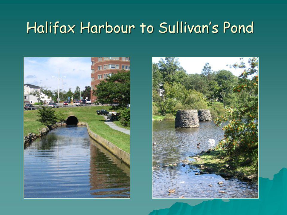 Halifax Harbour to Sullivan's Pond