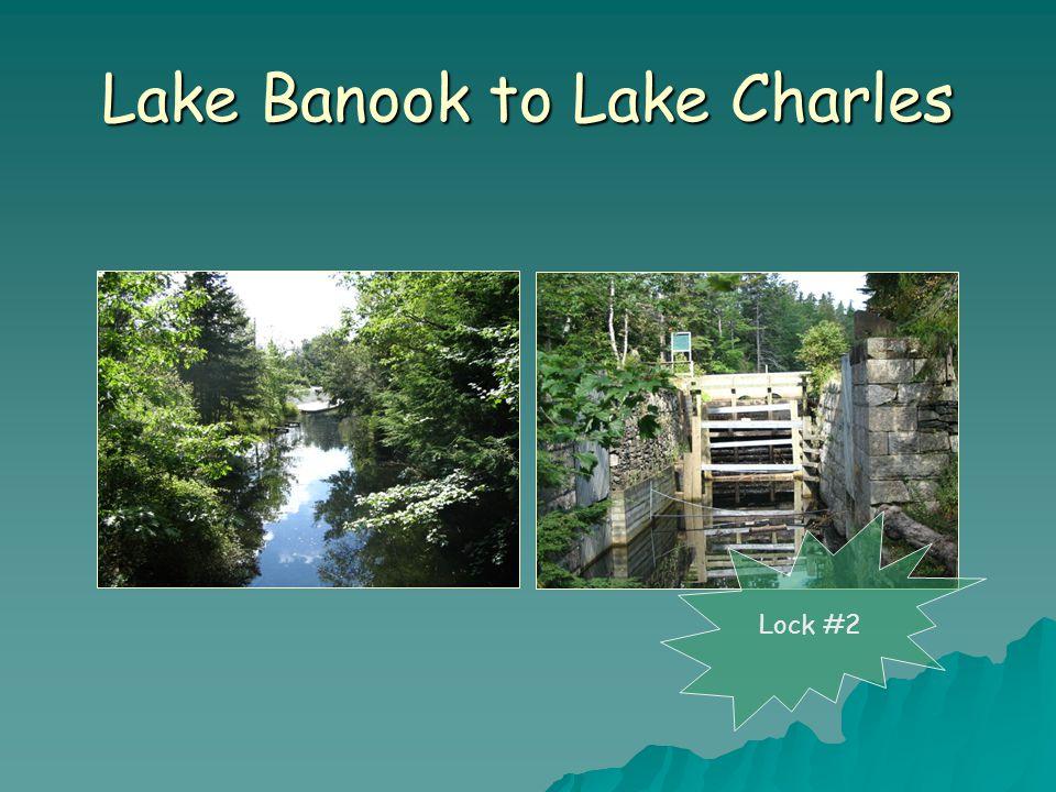 Lake Banook to Lake Charles Lock #2