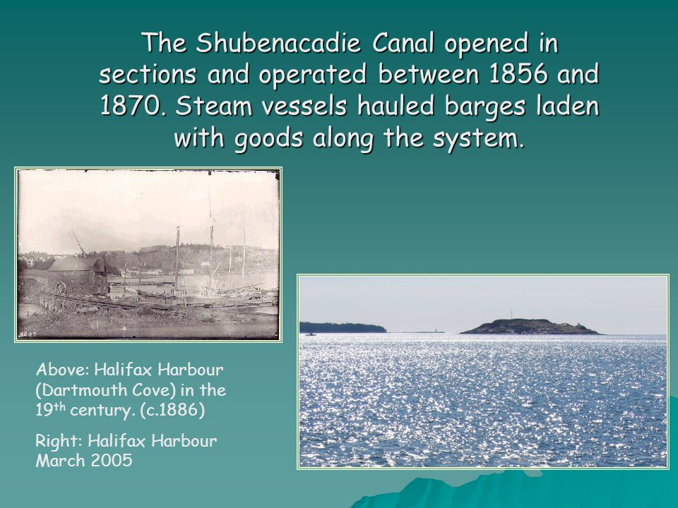 By 1870, railways were able to transport goods faster and more cheaply than ships, forcing the closure of the canal.