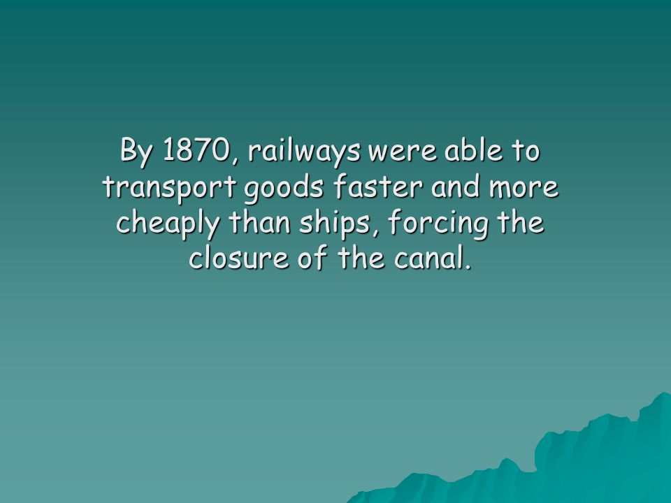 Railways pre 1867