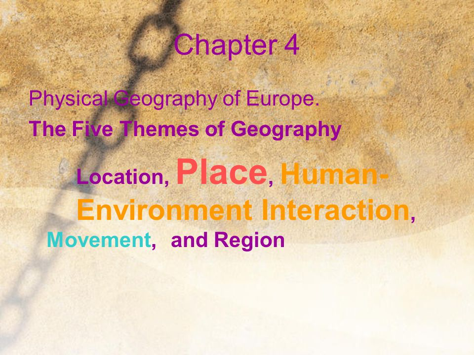 The Bigger Picture Section 1: Physical Features BIG IDEA Geographic factors influence where people settle.