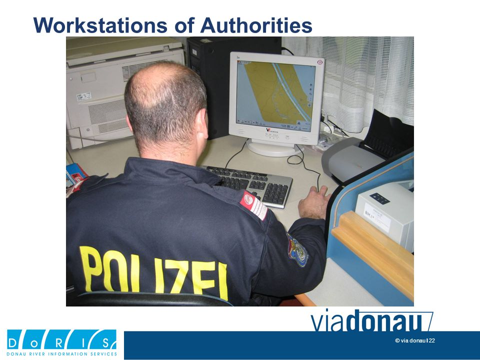 © via donau I 22 Workstations of Authorities