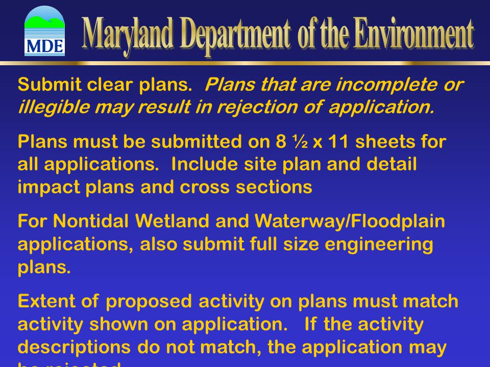 Submit Clear Plans (continued) 1.North arrow 2. Vicinity map 3.