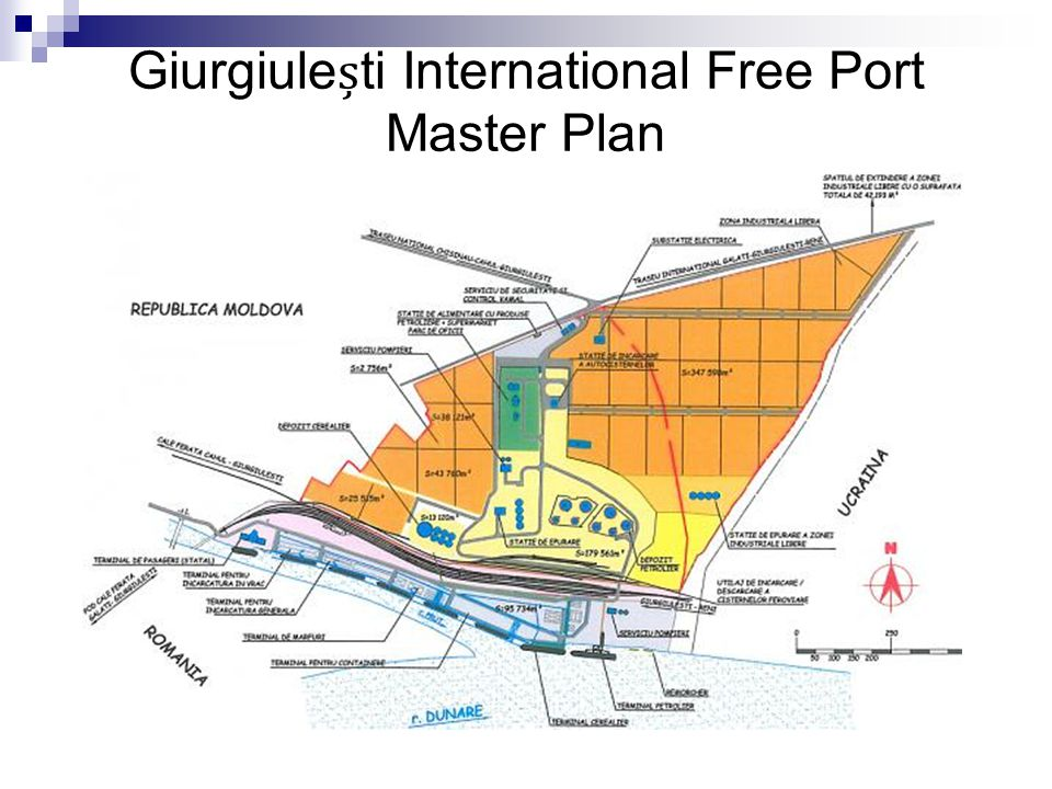 Giurgiuleti International Free Port Master Plan