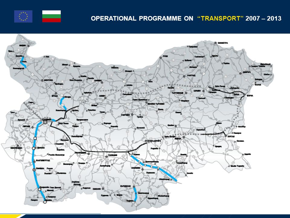 OPERATIONAL PROGRAMME ON TRANSPORT 2007 – 2013