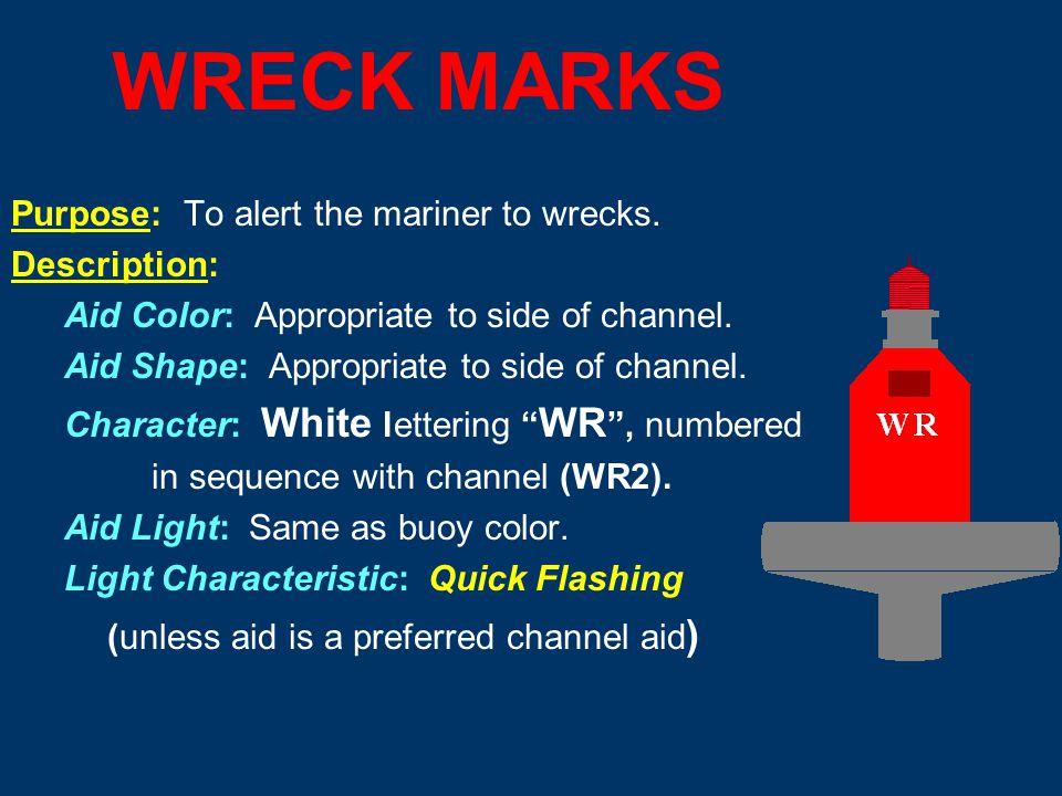 Range Marks FR – Front Range Mark RR - Rear Range Mark