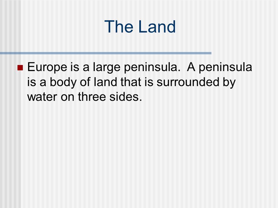 The Italian Peninsula Italy is on the Italian Peninsula.