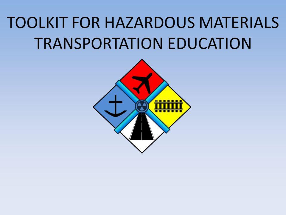 Module 2: Hazmat Transportation Logistics 2 This work is sponsored by the U.