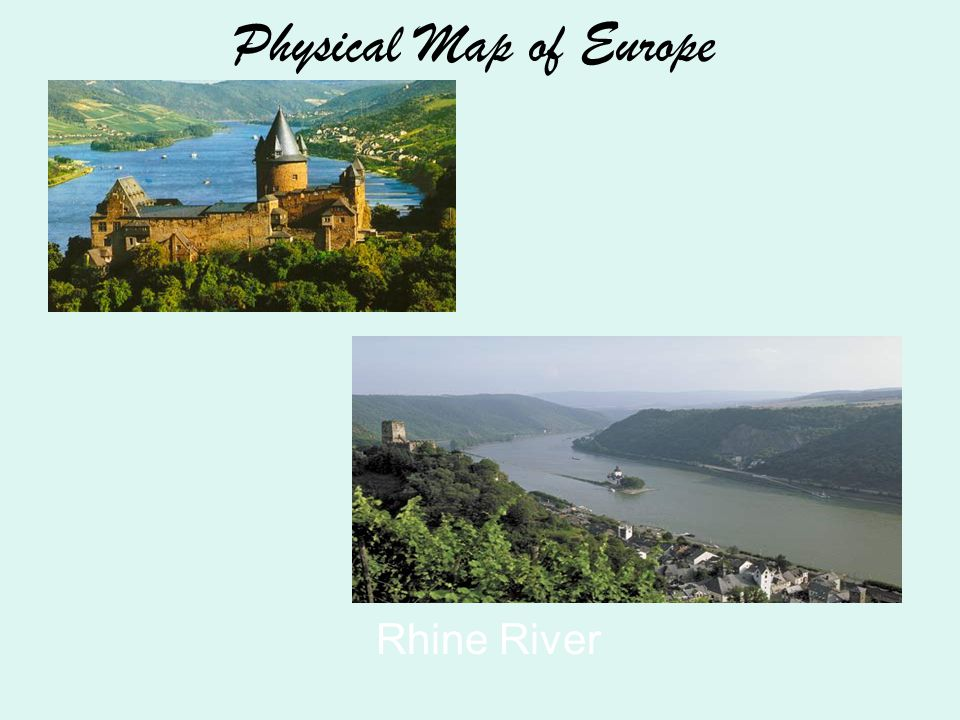 Considered the natural boundary between Europe & Asia Divide Russia: 1/4 is in Europe, 3/4 is in Asia 1,500 miles long.