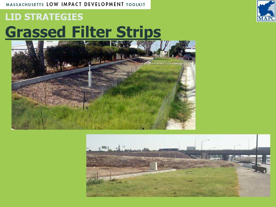 LID STRATEGIES Grassed Filter Strips